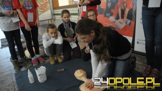WOŚP uczył najmłodszych udzielania pierwszej pomocy