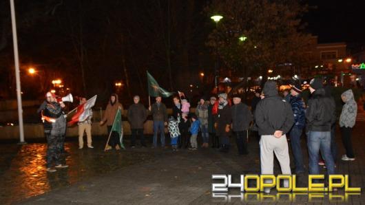 Manifestacja środowisk prawicowych w rocznicę wprowadzenia stanu wojennego