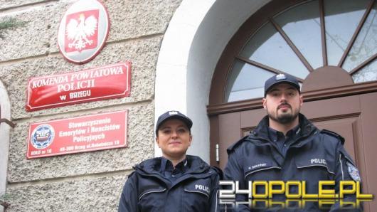 Brzescy policjanci w ostatniej chwili uratowali samobójcę