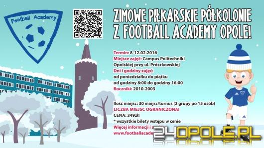 Ostatnie wolne miejsca na półkolonie Football Academy Opole!