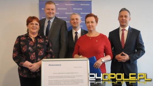 Opolska .Nowoczesna apeluje do PiS o publikację wyroku TK