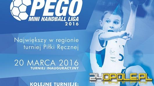 W weekend rusza PEGO Mini Handball Liga