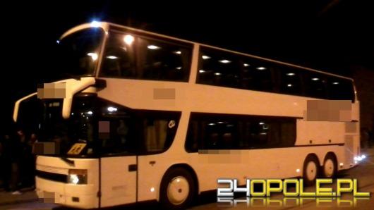 Niesprawny autokar miał zawieźć dzieci na wycieczkę do Niemiec