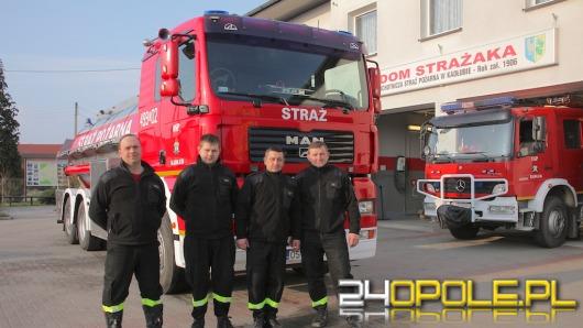 Strażacy z Kadłuba przerobili mlekowóz na strażacką cysternę
