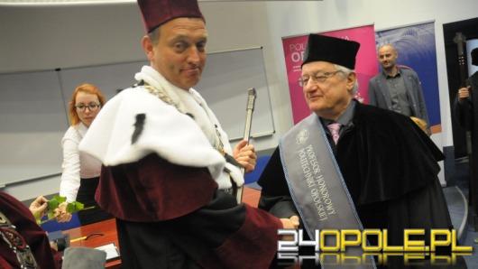 Manfred Wanzke został Honorowym Profesorem Politechniki Opolskiej