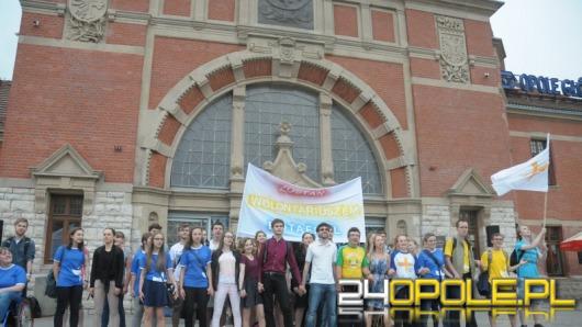 Flash mob zachęcał do wolontariatu w ramach Światowych Dni Młodzieży