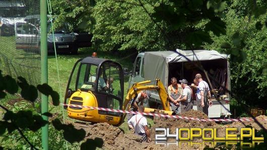 1300 osób ewakuowanych w Głubczycach. Koparka uszkodziła gazociąg.