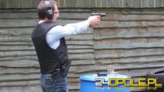Dziennikarze rywalizowali na strzelnicy