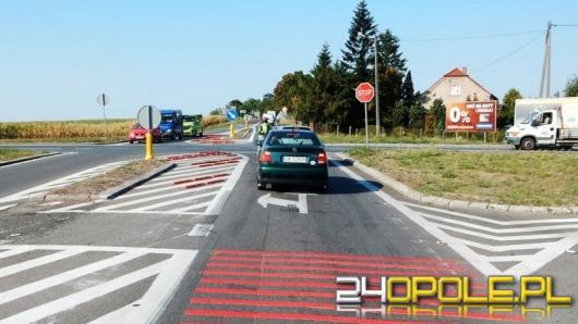 Na skrzyżowaniu w Reńskiej Wsi wciąż jest niebezpiecznie