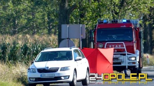 Rowerzystka zginęła w wypadku pod Grodkowem