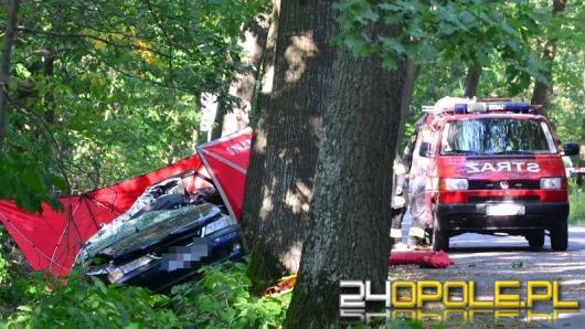 Dwie osoby zginęły w wypadku między Murowem a Kup