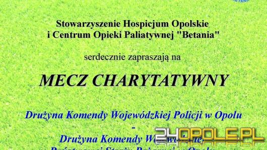 """Zobacz piłkarskie zmagania strażaków i policjantów, pomóż """"Betanii""""!"""