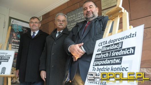 Opolski PSL: CETA zabije polskie rolnictwo!