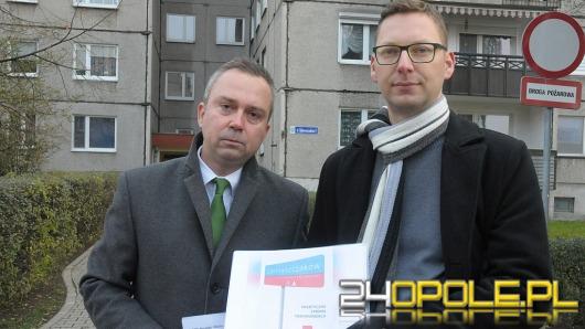 """Opolskie SLD: """"Ocalmy ulicę Dąbrowszczaków w Opolu"""""""
