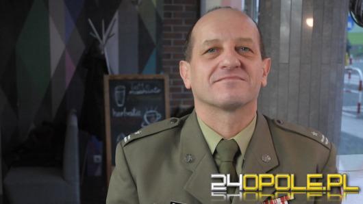 Major Wojciech Bakalarz - zostać zawodowym żołnierzem nie jest łatwo