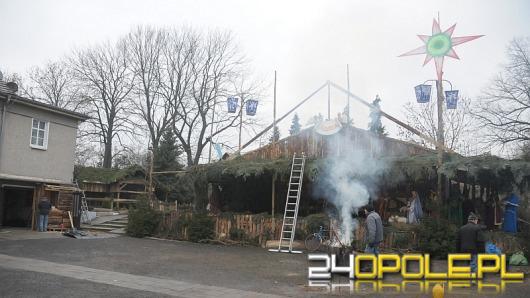 Szopka w Opolu-Szczepanowicach już prawie gotowa
