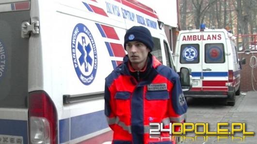 Pijani mężczyźni pobili ratowników medycznych