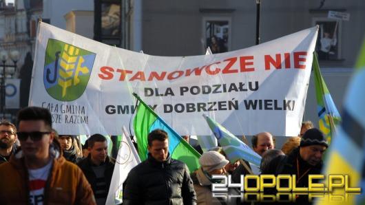 Przeciwnicy Dużego Opola wrócili do manifestacji