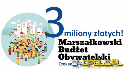Ostatnie dni na zgłoszenie wniosku do Marszałkowskiego Budżetu Obywatelskiego