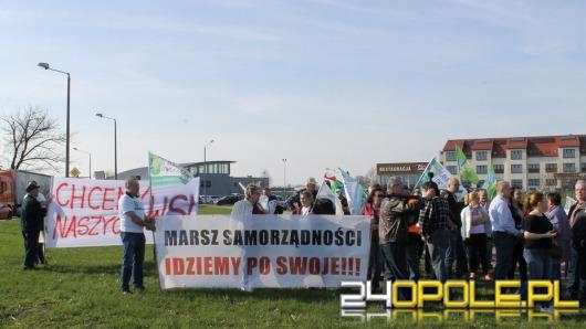 Blokada obwodnicy w innym terminie. Protestujący zapowiadają głodówkę.