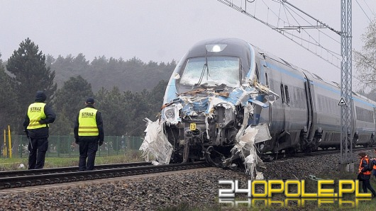 Duże utrudnienia na kolei po wypadku Pendolino