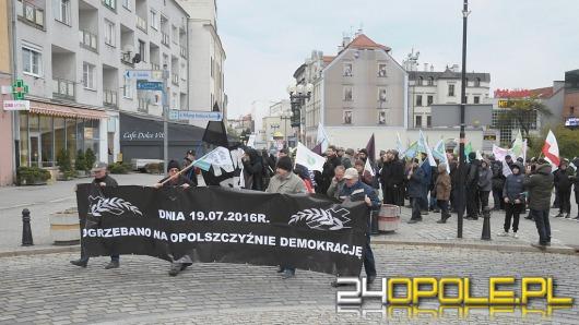 Kolejna manifestacja przeciwników powiększonego Opola za nami