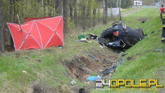 Pijany kierowca sprawcą wypadku w Grodźcu. Zginęła rowerzystka.