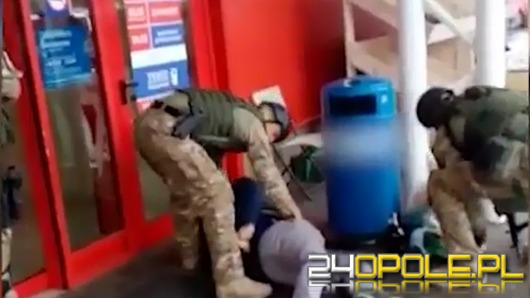 """""""Kwinto"""" zatrzymany przez opolskich antyterrorystów"""
