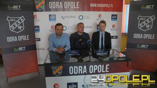 Odra Opole ma oficjalnego bukmachera