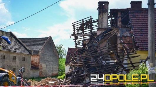 Wybuch butli z gazem w Nowakach. Zawalił się dom.