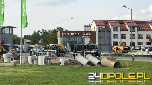 Robotnicy znaleźli niewybuch w Sławicach