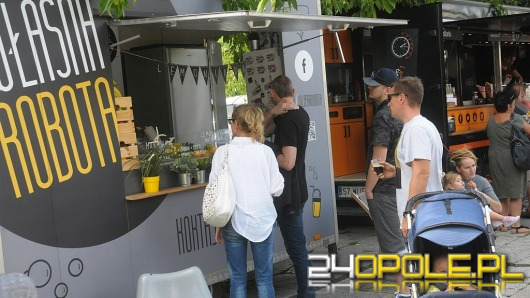 Centrum Opola pełne Food Trucków