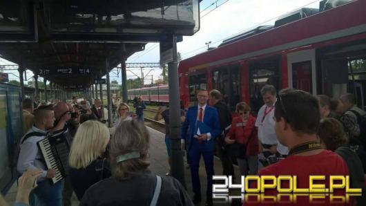 Walczą o pociąg Berlin - Wrocław - Opole