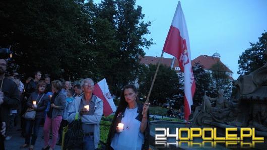 Protesty pod Sądem Okręgowym w Opolu dobiegają końca