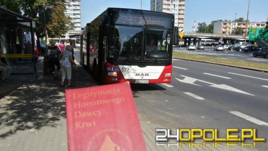 Honorowi krwiodawcy miejskimi autobusami będą jeździć za darmo