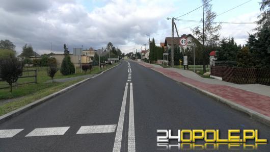 Mieszkańcy Januszkowic mają już nową drogę i ścieżkę rowerową