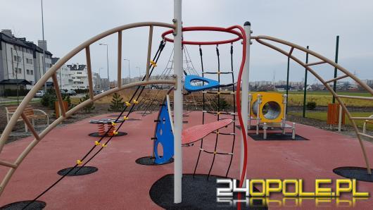 Park sensoryczny na osiedlu Malinka jest już gotowy, na oddanie do użytku poczeka jednak do wiosny.