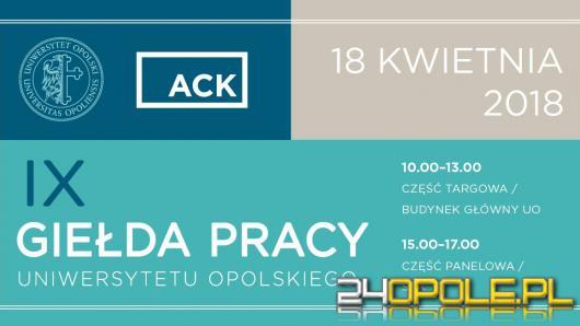 Już 18 kwietnia IX Giełda Pracy na Uniwersytecie Opolskim