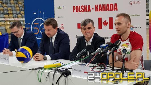 Reprezentacja Polski zagra w Okrąglaku siatkarski mecz towarzyski z Kanadą