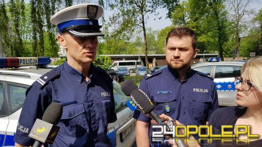 """Rowerzyści pod lupą policjantów. W weekend wystartowała akcja """"Jednośladem bezpiecznie do celu"""""""