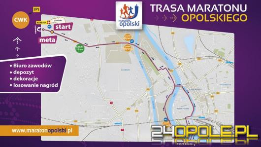 Uwaga kierowcy ! Jutro Maraton Opolski. Jakie utrudnienia w ruchu?