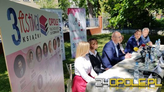 Ponad 70 wystawców, autorzy, koncerty. Zbliża się 3. Festiwal Książki w Opolu