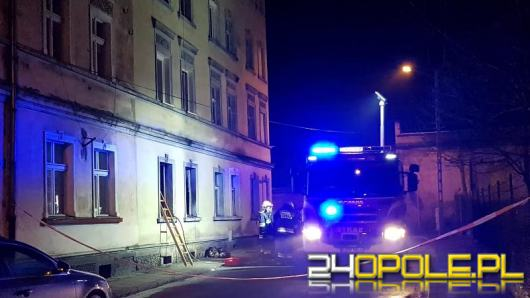 Podejrzani o podpalenie budynku wielorodzinnego zatrzymani