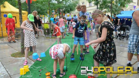Festiwal Uśmiechu na Małym Rynku przyciągnął mnóstwo Opolan