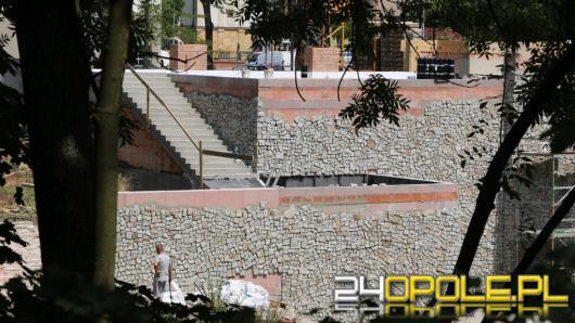 Trwa przebudowa Amfiteatru Miejskiego w Brzegu