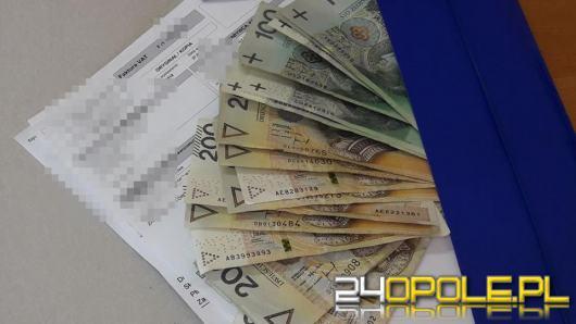 16-latka znalazła teczkę z pieniędzmi. Właściciel zguby miał duże szczęście
