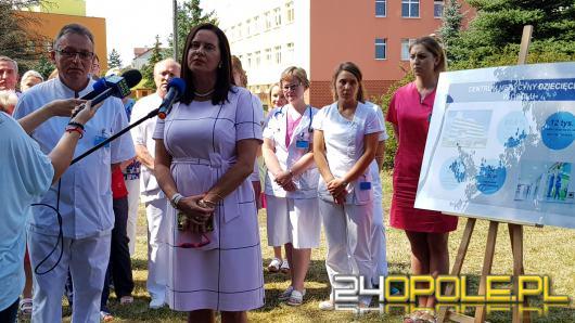 Centrum Leczenia Dziecięcego powstałoby w ciągu 3 lat. To obiecuje Violetta Porowska