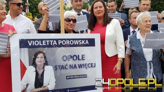 "Violetta Porowska: ""Ulica Niemodlińska to symbol nieudolności prezydenta"""