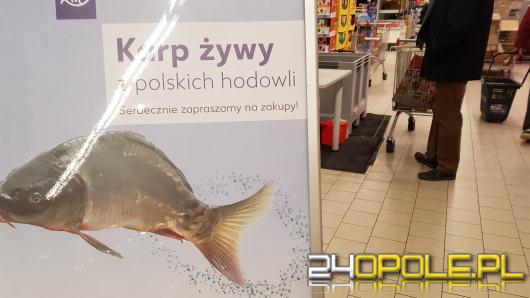 W wielu marketach nie kupimy już żywego karpia, w niektórych jednak nadal jest pakowany do siatek