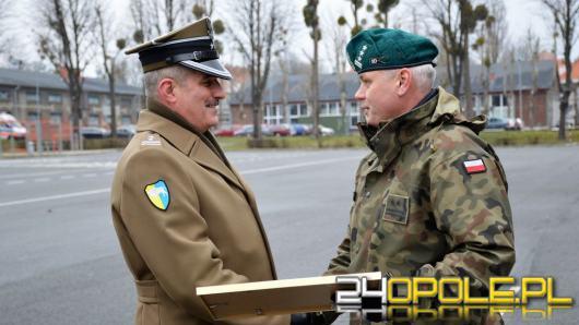 Pożegnanie Szefa Sztabu 10 Brygady Logistycznej